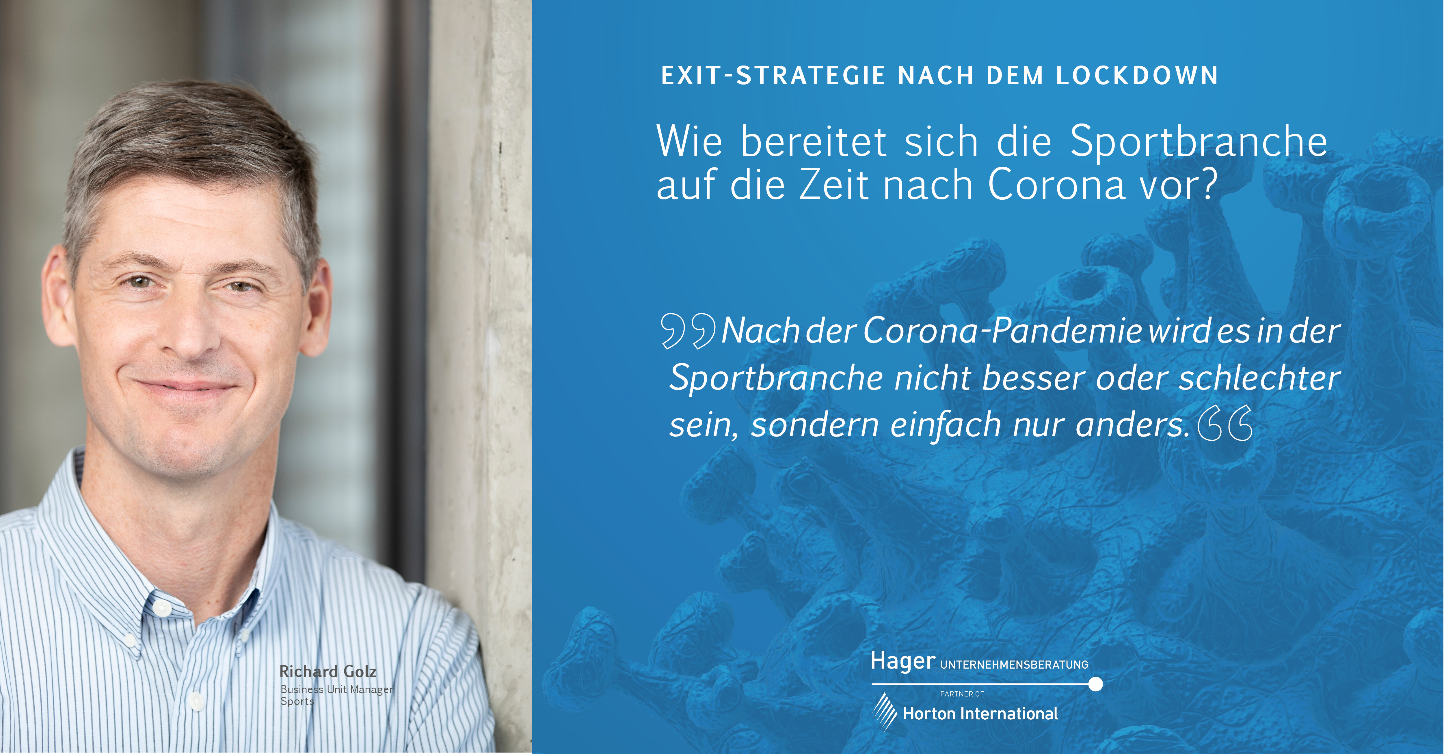 Exit-Strategie nach dem Lockdown - Sportbranche
